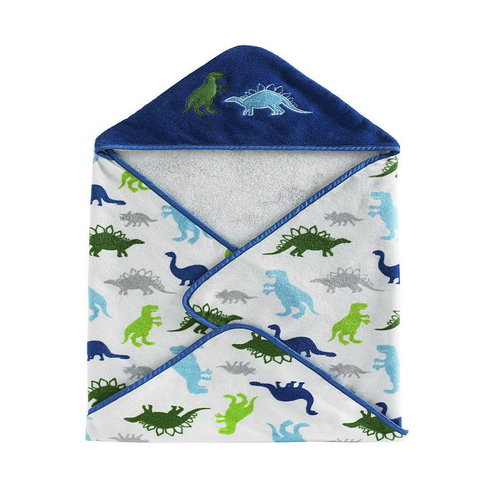 Полотенце детское 76x76 Kassatex Bambini Hooded Dino Park