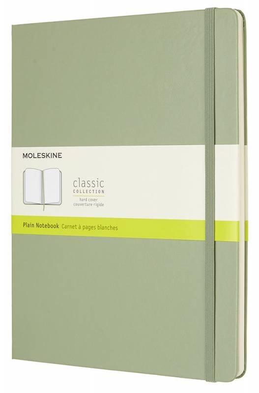 Блокнот Moleskine Classic XLarge, цвет зеленый, без разлиновки 432258(QP092K12)