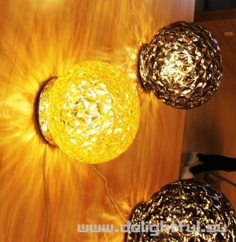 Kartell Planet wall lamp ( yellow )