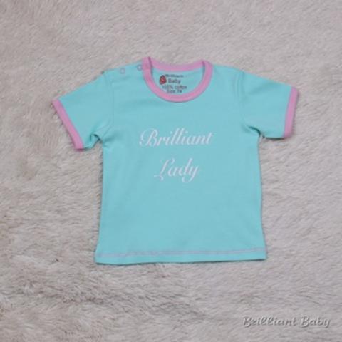 Эксклюзивная футболка Lady (ментол)