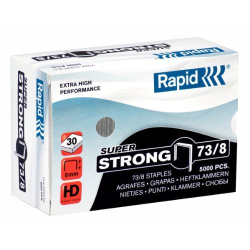 Скоба для степлера  №73 8мм 5000шт SuperStrong Rapid 24890300