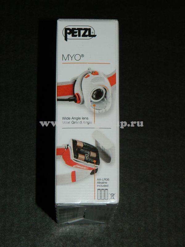 светодиодный фонарь Petzl MYO заказать