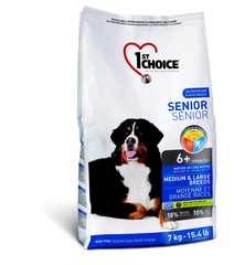 1st Choice Senior Medium & Large Breeds Dog