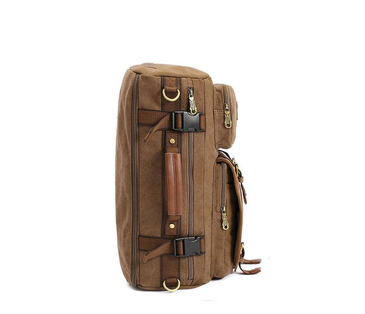 BAG367-2 Вместительный мужской рюкзак -трансформер из качественного текстиля фото 02