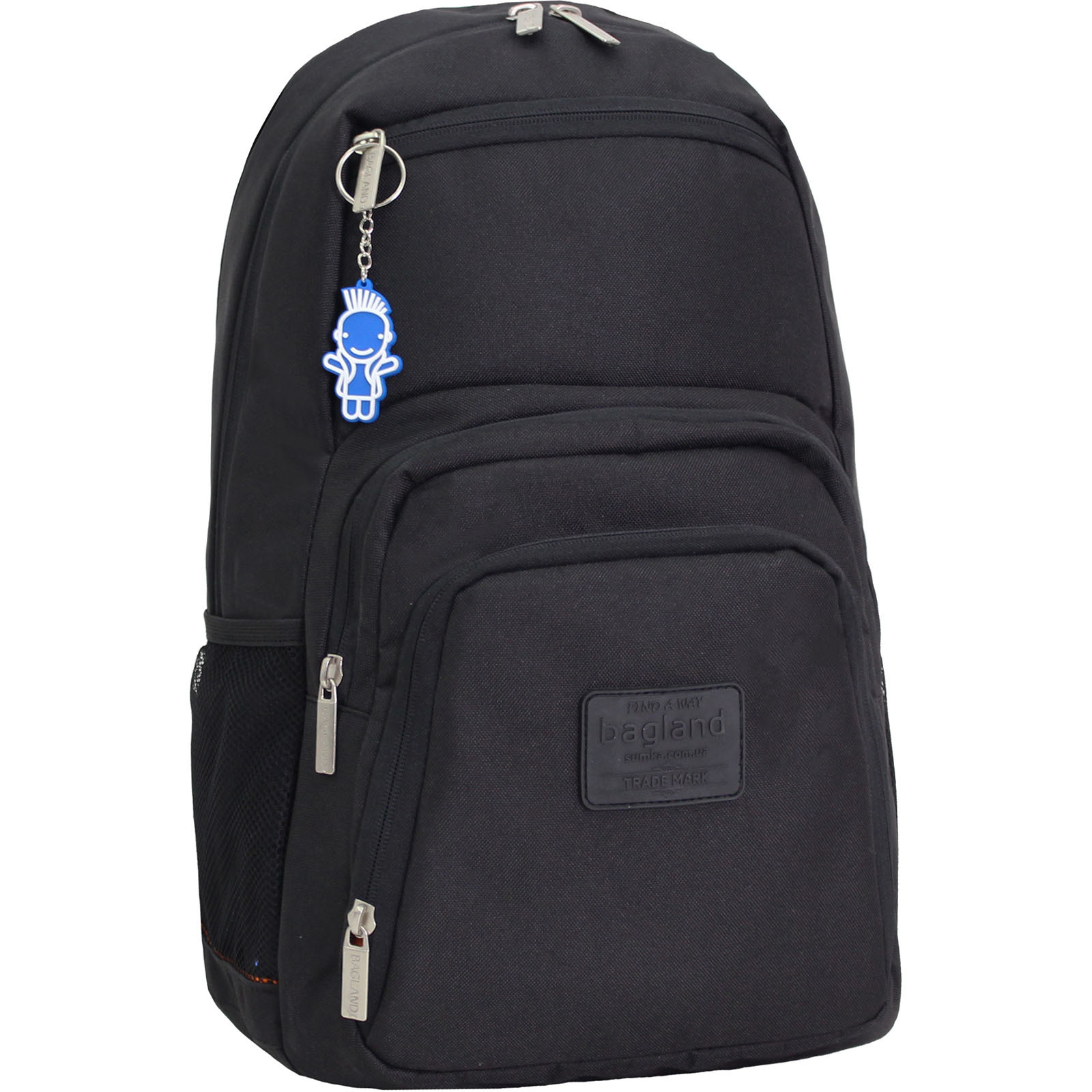 Рюкзаки для ноутбука Рюкзак для ноутбука Bagland Freestyle 21 л. Чёрный (0011966) IMG_0555.JPG