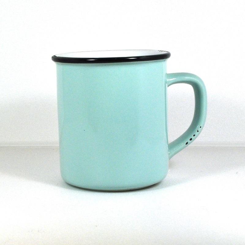 Винтажная кружка синяя (Фарфор и керамика Antic Line)