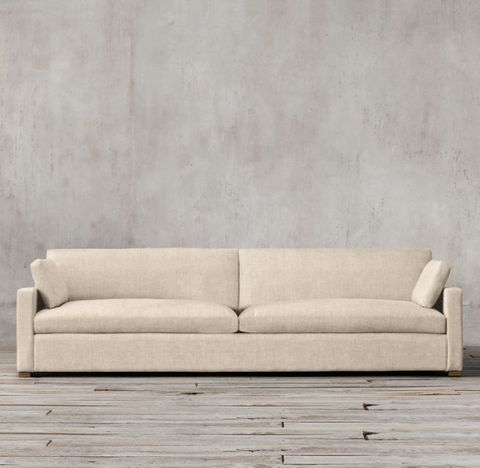 Belgian Track Arm Two-Seat-Cushion Sofa