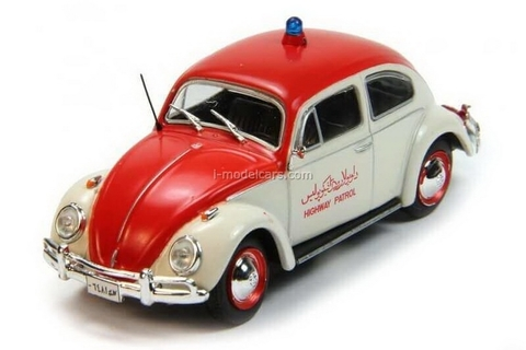 VW Beetle Volkswagen 1970 Afghanistan 1:43 DeAgostini World's Police Car #80
