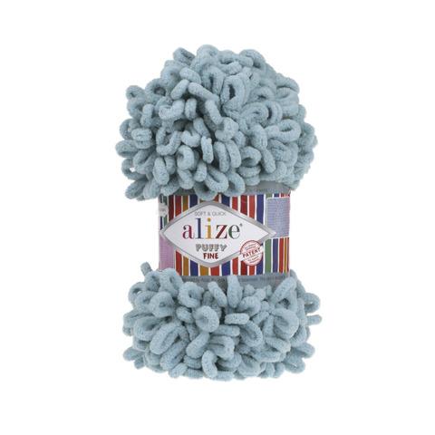 Купить Пряжа Ализе Пуффи Файн Код цвета 414 | Интернет-магазин пряжи «Пряха»