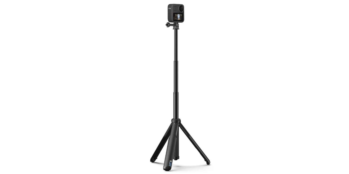 Телескопический монопод-штатив GoPro MAX Grip Tripod (ASBHM-002) раскрыт