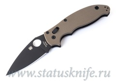 Нож Spyderco Manix 2 C101GPBNBK2 Earth Brown G-10 DLC M390