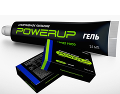 Гель спортивный энергетический POWERUP Апельсин - 25мл