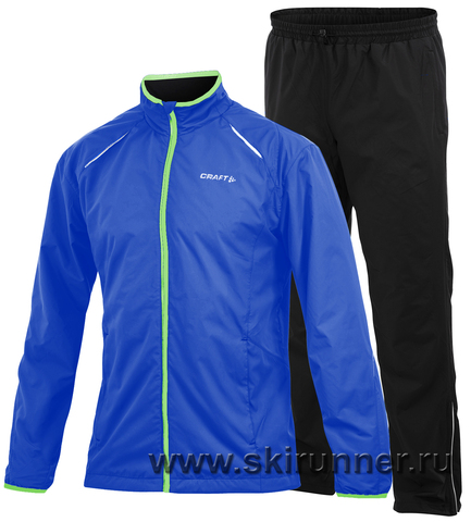 Костюм для бега Craft Active Run Wind мужской