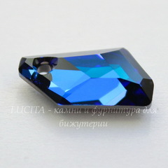 6670 Подвеска Сваровски De-Art Crystal Bermuda Blue (18 мм)