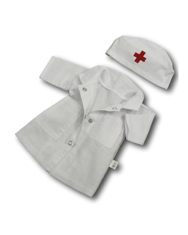 Доктор - Белый. Одежда для кукол, пупсов и мягких игрушек.