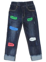 603 джинсы для девочек, синие