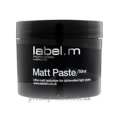 Label.M Matt Paste - Паста матовая