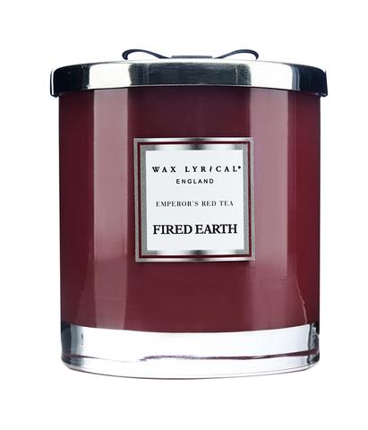 Свеча ароматическая в стекле Императорский красный чай большая, Wax Lyrical
