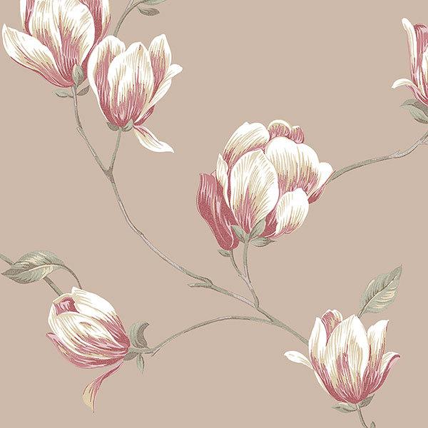Обои Aura English Florals G34324, интернет магазин Волео