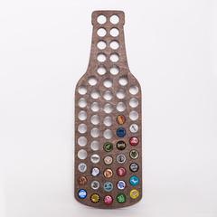 Бутылка для пивных крышек