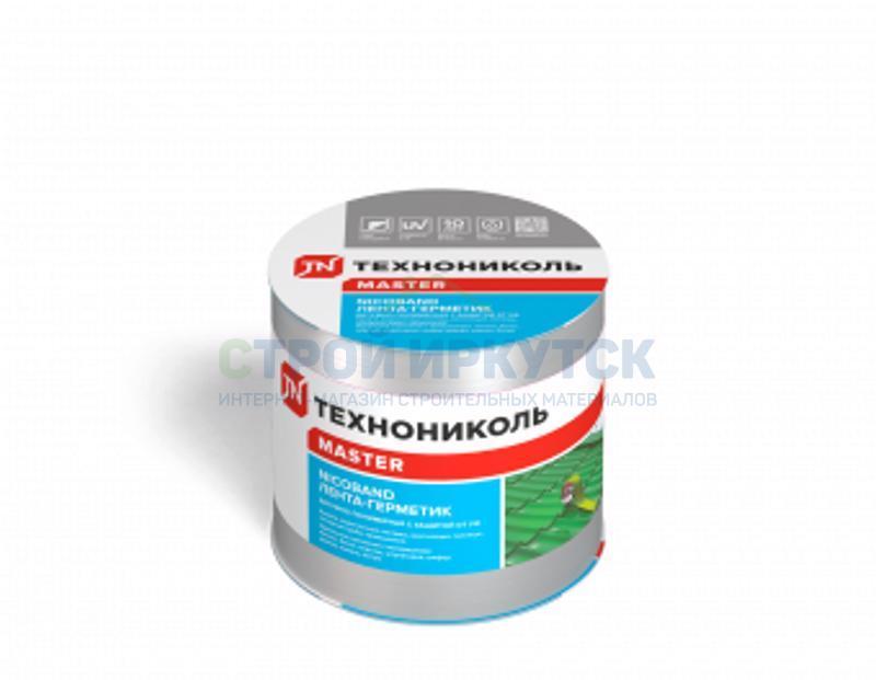 Гидроизоляционные ленты Лента самоклеющаяся Nicoband 3м х 10см серебристый ce770bfeee803da9f3d562bfa5d86260