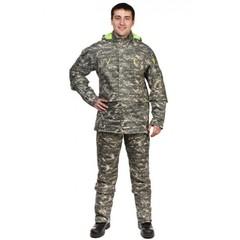 Мужской противоэнцефалитный костюм Биостоп® - Премиум, цвет - зеленый камуфляж