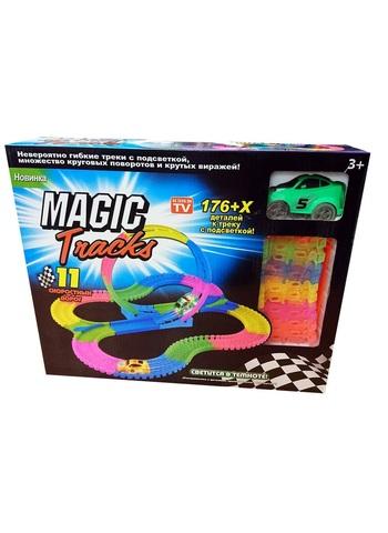 Magic Tracks - Большая гоночная трасса + Мертвая петля 176 деталей