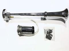 Сигнал труба 1 рожок большая+мотор 450мм (JS-A15 12V)