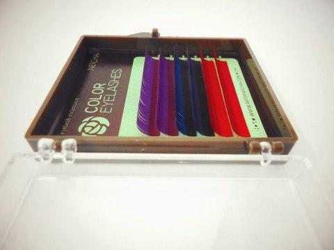 Цветные ресницы NEICHA 3 цвета MIX 6 линий