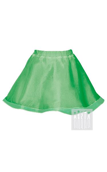 Юбка из органзы (зеленая)