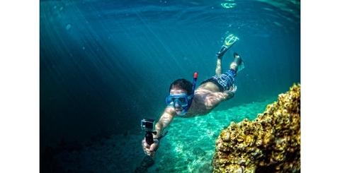 Поплавок SP Pov Dive Buoy пример использования под водой