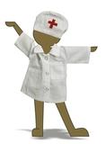 Доктор - Демонстрационный образец. Одежда для кукол, пупсов и мягких игрушек.