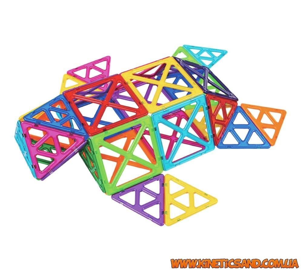 Magformers 30 элементов. Базовый набор Супер Магформерс