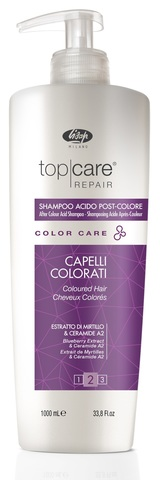 Стабилизатор цвета Top Care Repair Color Care After Color Acid Shampoo 1000мл