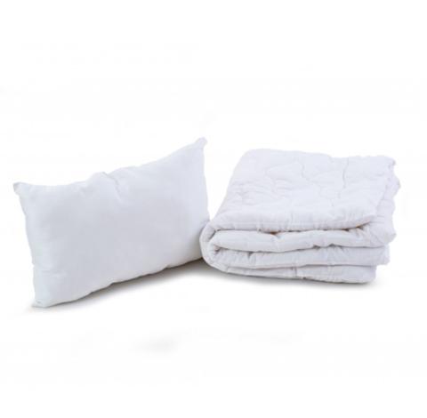 Комлект Ковдра + Подушка в дитяче ліжечко (Бязь 100% бавовна + Шерстепон)