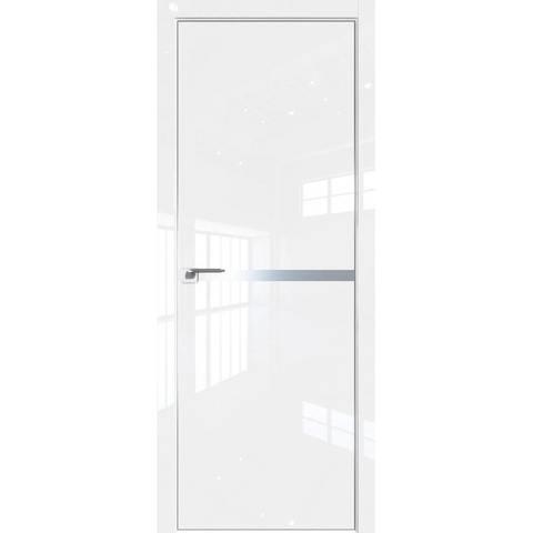 11LK белый люкс без стекла с алюминиевым молдингом