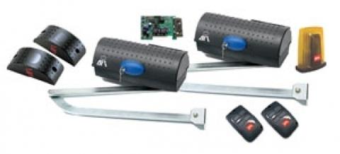 Комплект приводов BFT IGEA KIT FRA 230V для автоматизации распашных ворот (до 1600 кг и 6 м)