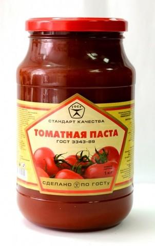 "Томатная паста ""Сава"" 25%  500г"
