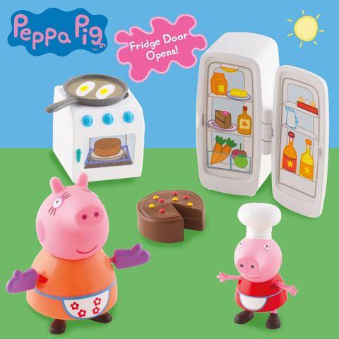 Игровой набор «Кухня Пеппы» 6 предметов, Peppa Pig
