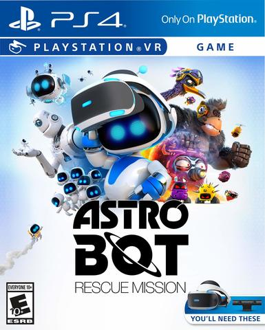 PS4 ASTRO BOT Rescue Mission (только для PS VR, русская версия)