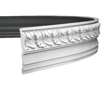 Гибкий карниз Европласт из полиуретана 1.50.136, интернет магазин Волео
