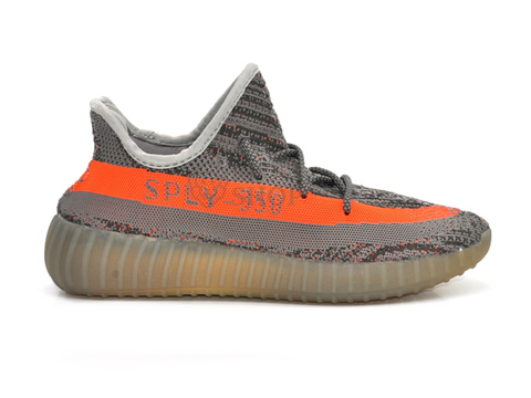 Adidas Yeezy 350 Boost V2 Men's Gray/Orange