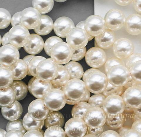 5810 Хрустальный жемчуг Сваровски Crystal Light Creamrose круглый 10 мм (Картинка)