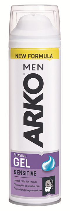 ARKO Men Sensitive Гель для бритья, 200 мл
