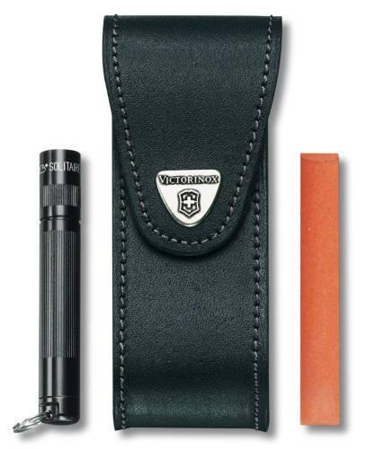 Чехол кожаный черный, для Services pocket tools 111 мм, Pocket Multi Tools lock-blade