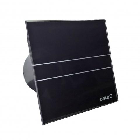 Вентилятор накладной Cata E 100 G Bk Черный, с обратным клапаном