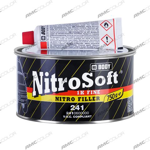 Шпатлевка Body 241 NITROSOFT (0,75кг)