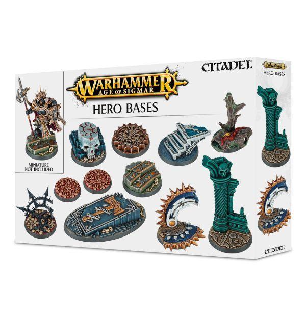 Warhammer Age of Sigmar Hero Bases [предзаказ]