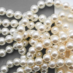5810 Хрустальный жемчуг Сваровски Crystal Light Creamrose круглый 10 мм