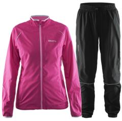 Женский костюм для бега Craft Prime Run 1903171-1904744 розовый